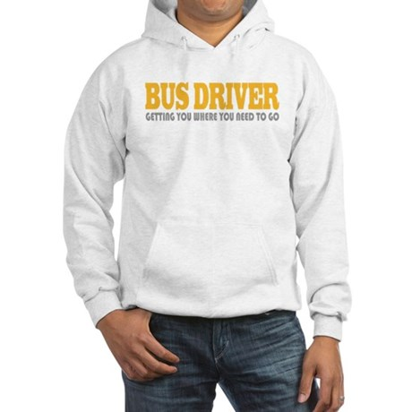 Funny Bus Driver Hooded Sweatshirt
