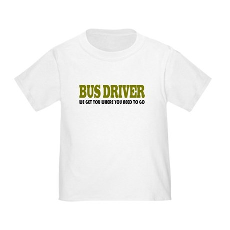 Funny Bus Driver Toddler T-Shirt