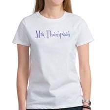 Mrs. Thompson Tee
