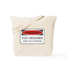 Attitude Dog Groomer Tote Bag