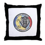 French Police Specops Throw Pillow