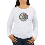 French Police Specops Women's Long Sleeve T-Shirt