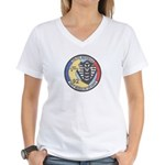 French Police Specops Women's V-Neck T-Shirt