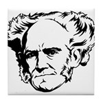 Strk3 Schopenhauer Tile Coaster