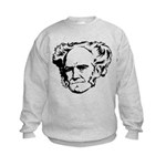 Strk3 Schopenhauer Kids Sweatshirt