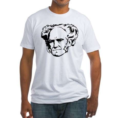 Strk3 Schopenhauer Fitted T-Shirt
