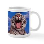 Wake Up Pussy Cat Tiger Yawn Coffee Mug