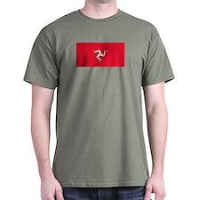Flag of Isle of Man T-Shirt