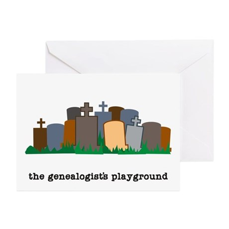 Playground Greeting Cards (Pk of 10)