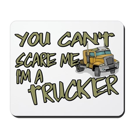 No Fear Trucker Mousepad