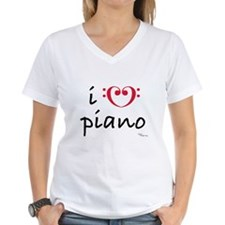 i love piano Shirt