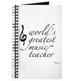 world's greatest music teache Journal