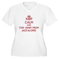 Keep calm and stay away from Jackalopes Plus Size