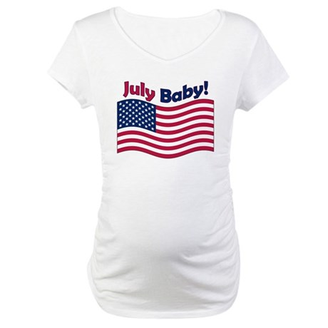 July Baby Maternity T-Shirt