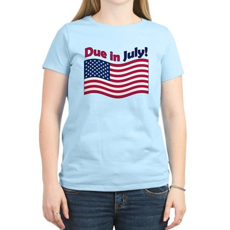 Due in July Women's Light T-Shirt