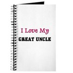 I LOVE MY GREAT-UNCLE Journal