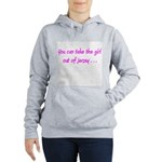 You Can Take The Girl Women's Hooded Sweatshirt