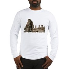 St. Peter's Basilica Statues Long Sleeve T-Shirt