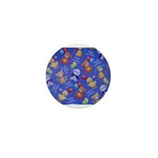 BIRTHDAY ANIMAL THEME Mini Button (10 pack)