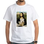 Mona's Wheaten White T-Shirt