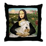 Mona's Wheaten Throw Pillow