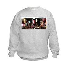 Times Square at night Sweatshirt