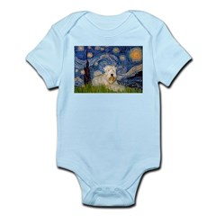 Starry / Wheaten T #1 Infant Bodysuit