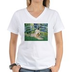 Bridge & Wheaten Women's V-Neck T-Shirt