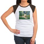 Bridge & Wheaten Women's Cap Sleeve T-Shirt