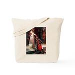 Princess & Wheaten Tote Bag