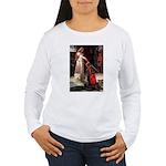 Princess & Wheaten Women's Long Sleeve T-Shirt