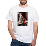 Princess & Wheaten White T-Shirt