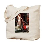 Princess & Wheaten Tote Bag