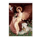 Seated Angel & Wheaten Postcards (Package of 8)