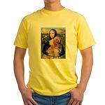 Mona's Golden Retriever Yellow T-Shirt