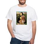 Mona's Golden Retriever White T-Shirt