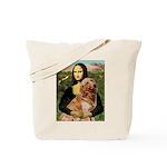 Mona's Golden Retriever Tote Bag