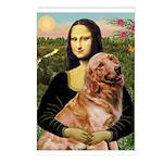 Mona's Golden Retriever Postcards (Package of 8)
