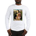 Mona's Golden Retriever Long Sleeve T-Shirt