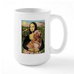 Mona's Golden Retriever Large Mug