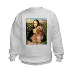 Mona's Golden Retriever Kids Sweatshirt