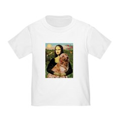Mona's Golden Retriever Toddler T-Shirt