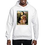 Mona's Golden Retriever Hooded Sweatshirt