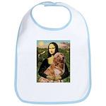 Mona's Golden Retriever Bib
