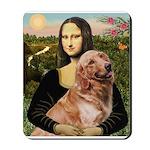 Mona's Golden Retriever Mousepad