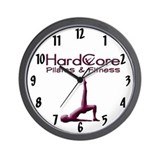 HardCore Pilates Logo Wall Clock