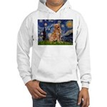 Starry Night Golden Hooded Sweatshirt