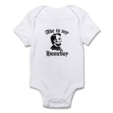 Cute Abraham lincoln Infant Bodysuit