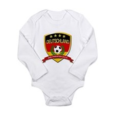 Unique World cup football Long Sleeve Infant Bodysuit