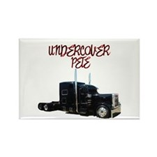Undercover Pete Rectangle Magnet (10 pack)
